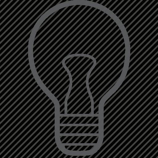 bulb, creative, electricity, light, lightbulb, lightning, tube icon