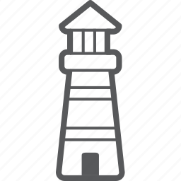 house, light, light house, sea tower, tower icon