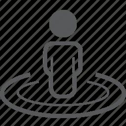 gps, location, location person, map, navigation, person, user icon