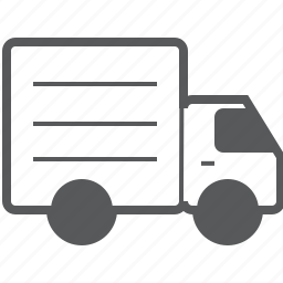 delivery, logistics, shipping, transport, transportation, truck, van icon