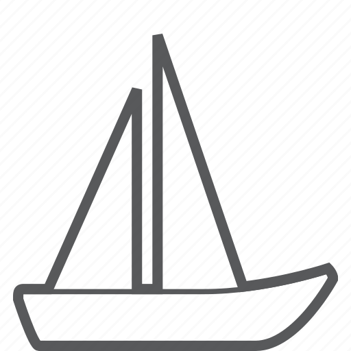 boat, sailing, ship, transport, transportation, vehicle icon