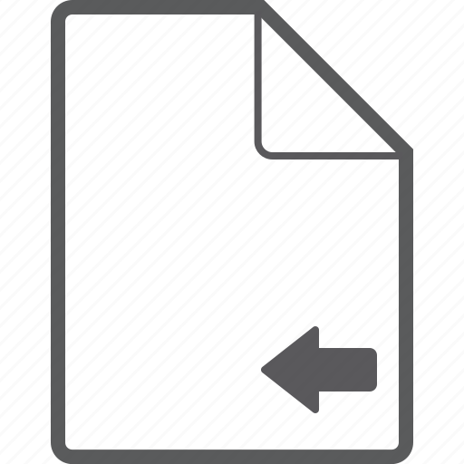 file, left icon