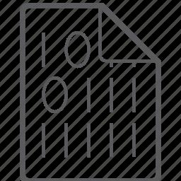 binary, file icon
