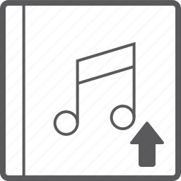 cover, music, up icon