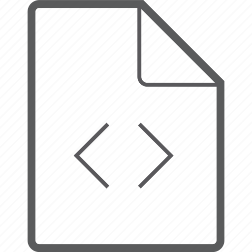 code, file icon