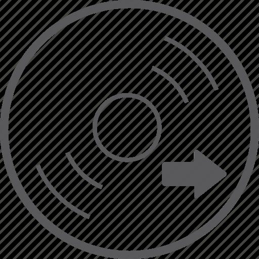 disc, right icon