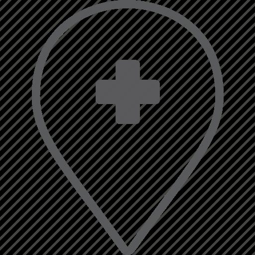 add, marker icon
