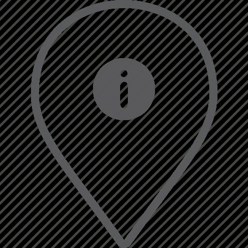 info, marker icon
