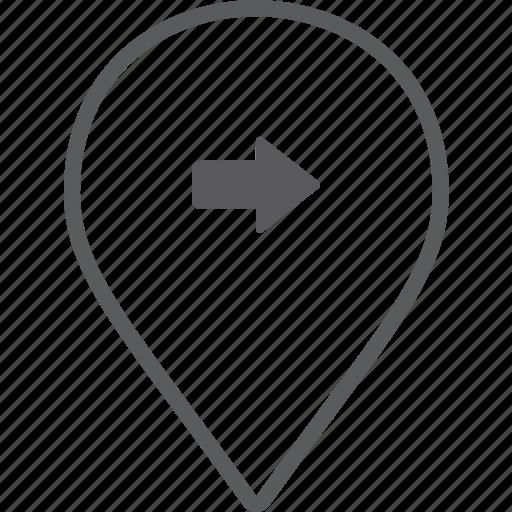 marker, right icon