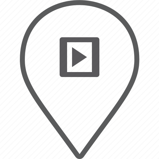 marker, player, video icon