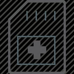 add, memory, stick icon