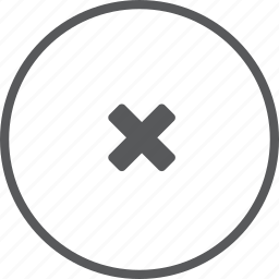 cancel, circle, delete, remove icon
