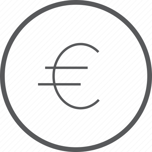 Circle, euro, cash, currency, finance, money, payment icon - Download on Iconfinder