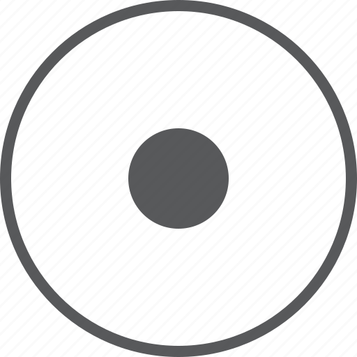 audio, circle, music, player, record, sound, video icon