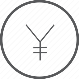 cash, circle, currency, finance, money, payment, yen icon