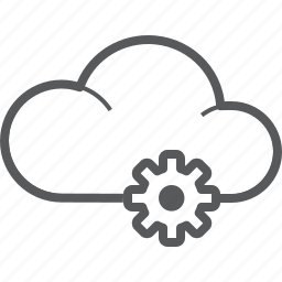 cloud, forecast, options, setting, settings, tool, weather icon