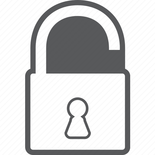 lock, locked, protection, safe, security, unlock icon