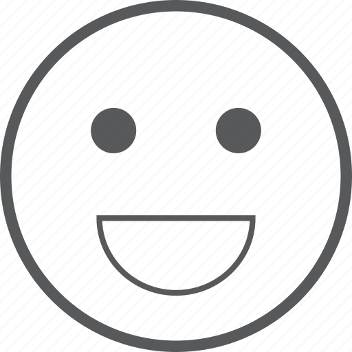 emoticon, emoticons, emotion, expression, face, smile, smiley icon