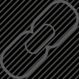 communication, hyperlink, internet, link, network, social, url icon