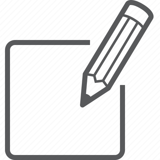 document, edit, files, page, pen, pencil, write icon