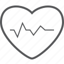favorite, heart, like, love, signal, valentine icon
