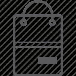 bag, remove, shopping icon