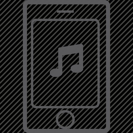 music, phone, smart icon