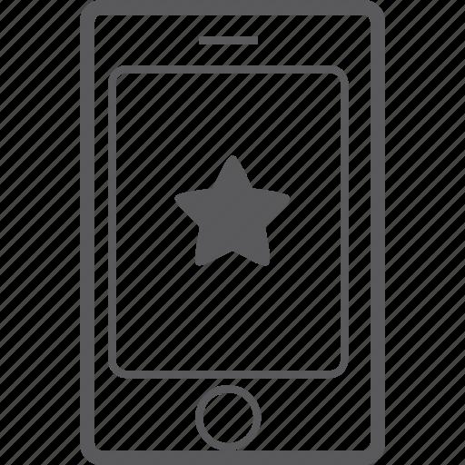 phone, smart, star icon