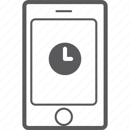 phone, smart, timer icon