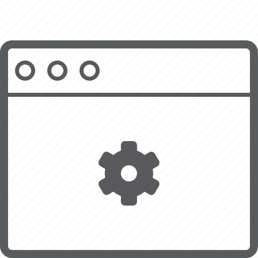 layout, setting, website icon