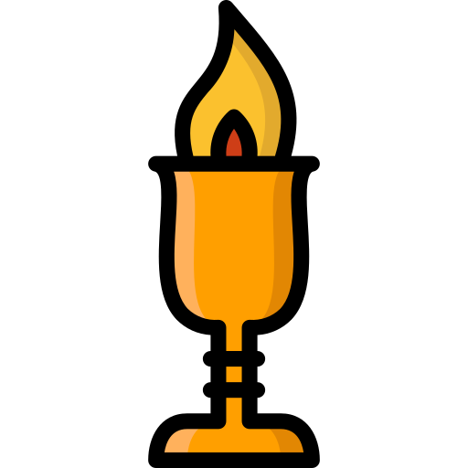 Colour, fire, goblet, harry, potter icon - Free download