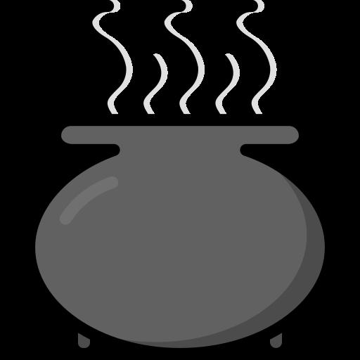 cauldron, colour, harry, pot, potter, spells icon