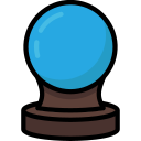 ball, colour, crystal, future, harry, potter icon