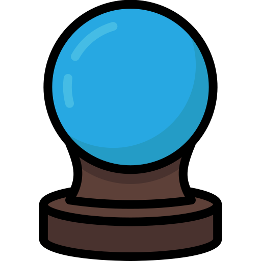 Ball, colour, crystal, future, harry, potter icon - Free download