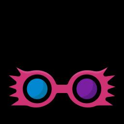 colour, glasses, harry, magic, potter, spectrespecs icon