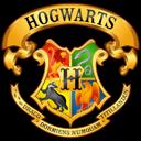 crest, dumbledore, gryffindor, harry potter, hogwarts, hufflepuff, ravenclaw, slytherin icon