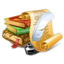 antique books icon