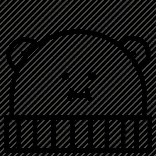beanie, beanies, cap, emoji, emojis, hat, hats icon