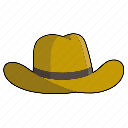 cap, clothing, cowboy hat, fashion, hat, headwear, stetson icon