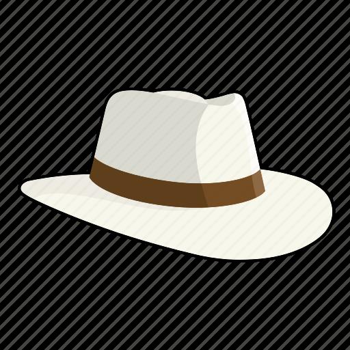 clothing, fashion, fedora, hat, headwear, indented icon