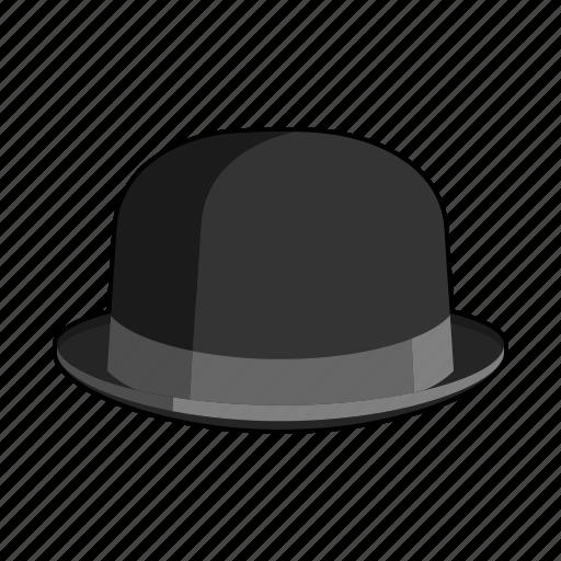 bowler, british, cap, clothing, felt, hat, headwear icon