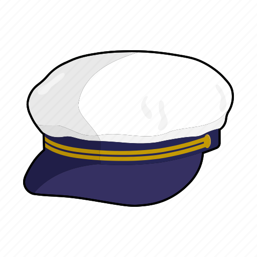 cap, captain, clothing, fashion, hat, headwear, sailors cap icon