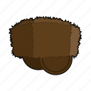 cap, clothing, fashion, fur, hat, head wear, winter cap icon