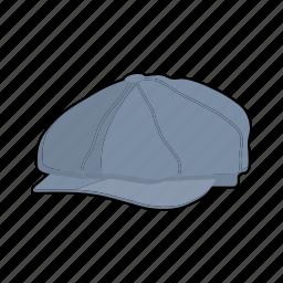 cap, clothing, fashion, flat cap, hat, head wear icon
