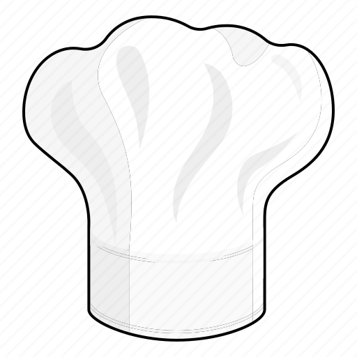 cap, chef, chef's hat, clothing, cook, hat, profession icon
