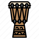 drum, hawaii, instrument, music, musical icon