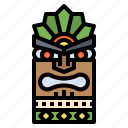 cultures, hawaii, hawaiian, sculpture, statue icon