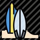 beach, hawaii, sports, surf, surfboard