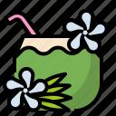 flower, hawaii, hawii, hibiscus, plant icon