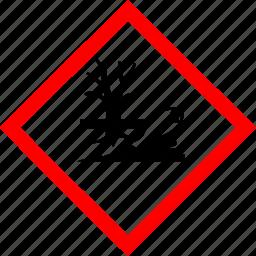 environment, hazard symbols, industrial icon
